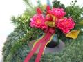 Dušičková vazba z Květinářství Kamélie-aranžmá na hřbitov, ke Svátku zesnulých
