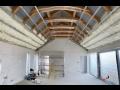 Zateplení střechy, podkroví PUR pěnou - efektivní tepelná izolace domu