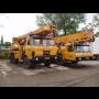Pronájem autojeřábu LIEBHERR LTM 1030, 1040 s řidičem - spolehlivé jeřábnické práce