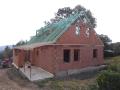 Výstavba rodinných domů na klíč, hrubé stavby