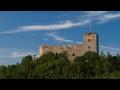 Zřícenina hradu s hradní věží Radyně