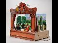 Ruční výroba dřevěných loutkových divadel i samostatných loutek pro rozvíjení dětské fantazie