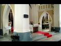 Městys Křemže v Jihočeském kraji, zřícenina hradu Dívčí kámen, kostel archanděla Michaela