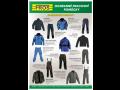 Ochranné pracovní pomůcky, oděvy, rukavice, montérky, bundy Opava