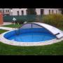 Kruhové zastřešení bazénů – zakázková výroba na míru