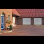Moderní a elegantní garážová vrata, vchodové i interiérové dveře