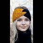 Moderní dámská a dívčí pletená čelenka – jednobarevné, dvoubarevné, s ...