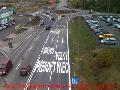 Pron�jem dopravn�ho zna�en�, mont� dopravn�ch zna�ek Olomouc