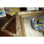 Rámování obrazů, zrcadel a vazby diplomových prací, knih