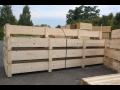 Dřevěné palety a bedny