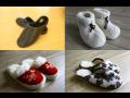 Prodej domácí obuv ovčí vlna vlněné přezůvky pantofle
