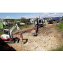 Zemní a výkopové práce, nákladní doprava Blansko, výkopy základů, terénní úpravy, výkopy bazénů