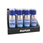 Prodej profesionálních lyžařských vosků MAPLUS, voskovací sady, smývače vosků, voskovací stroje