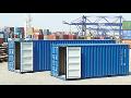 Prodej ocelové námořní kontejnery