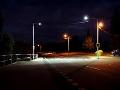 Praha reklama na stožárech veřejného osvětlení