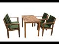 Zahradní nábytek pro 4 osoby AKÁCIE,AKČNÍ CENA !!!