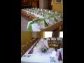 Svatby, školící prostory, firemní akce, rodinné oslavy, Plzeň