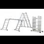 Kvalitní kloubové a teleskopické hliníkové žebříky za příznivé ceny - široký výběr