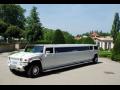 Praha pronájem luxusní limuzíny HUMMER