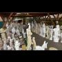 Zahradní doplňky, zahrada a stavba Hodonín, prodej fontány, kašny, krby, zahradní sochy, nádoby