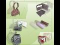INDIEN, Ledermappen, Taschen und Handtaschen