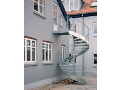 Točité ocelové schodiště, podlahové rošty, Praha, Brno, Zlín