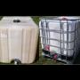 Prodáváme použité nádoby na vodu Pardubice, úsporné zalévání zahrady, soudky a velké barely