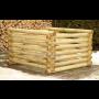 Dřevěné a plastové kompostéry, polykarbonátové skleníky s dopravou zdarma