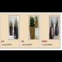 Nové typy květináčů – zahradní keramické květináče s designem kamene a atypickými tvary