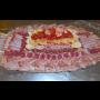 Obložené salámové, salámovo-sýrové mísy a talíře  - občerstvení ve formě studeného rautu