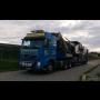 Nadrozměrná přeprava - doprava nadměrných nákladů, strojů na podvalnících s hydraulickými nájezdy
