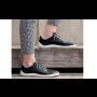 Kožená kotníková barefoot obuv Jampi Bea pro dámy v černé, hnědé a béžové barvě