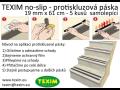 Samolepící protiskluzová páska  Texim no-slip Hradec Králové