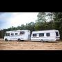 Luxusní obytňáky pro rodinu 4-5 osob - pronájem karavanu na týden