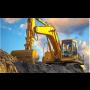 Alfa stavební stroje Pardubice, půjčovna stavební techniky i se strojníkem, pásový bagr