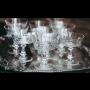 Broušené sklo a křišťál, výroba sklenic a jídelních souprav