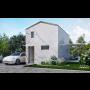 Domek Akorát včetně vnitřního vybavení, se skleněnou fasádou - 4 typy domu, varianta S bez nutnosti stavebního povolení