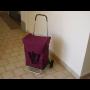 Pojízdná nákupní, poštovní kabela -   nepromokavá taška na kolečkách