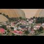 Obec Vatín, okres Žďár nad Sázavou, naučná stezka okolo Zelené hory, Ski areál Harusův kopec