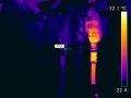 Termovizní měření Kolín, termokamera Nymburk, termovize Poděbrady