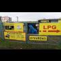 Čerpací stanice LPG s možností platby hotově i kartou, prodej propan-butan lahví