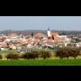Městys Olbramkostel Znojmo, Socha svatého Jana Nepomuckého, Kostel Nanebevzetí Panny Marie