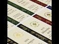 Vazba diplomových prací, etikety, tiskárna Hodonín