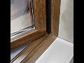Plastová okna, imitace dřeva plastových oken Brno