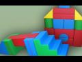 Sportovn� ��n�nky matrace skl�dac� hrady sestavy kostek
