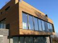 Dřevěné provětrávané fasády