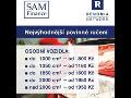 Nejlevnější povinné ručení v kraji Vysočina - povinné ručení a havarijní pojištění