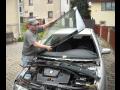 Výměna autoskla Škoda Octavia čelní autosklo Liberecký kraj.