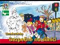 Dopravní publikace k výchově dětí Bezpečně na silnici, omalovánky
