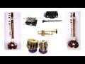 INDIEN,  Musikinstrumente